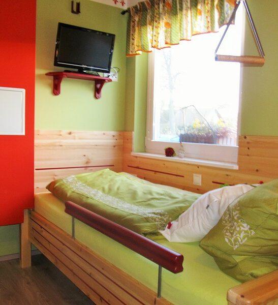 Schlafbereich Einzelbetten